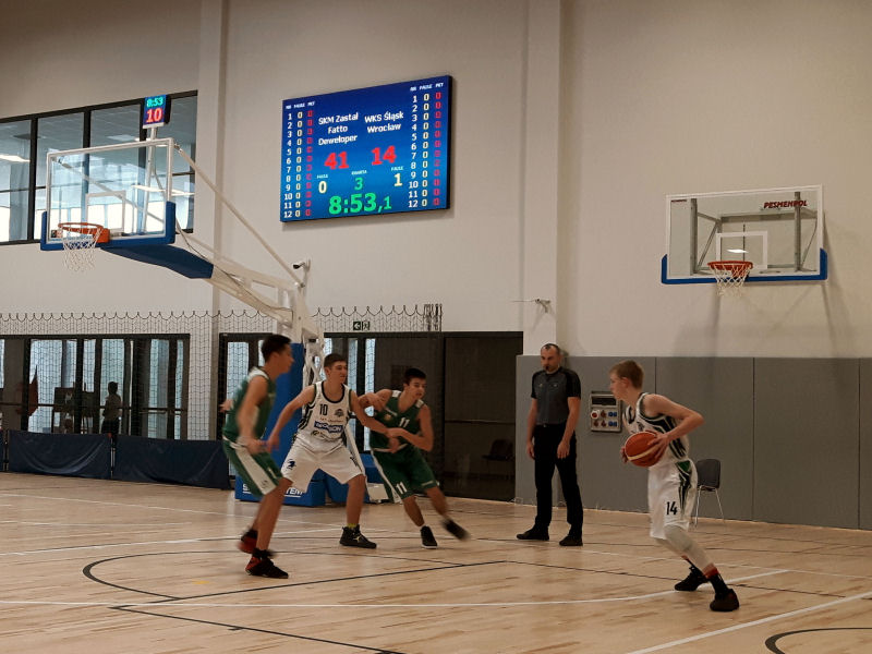 Elektroniczna Tablica Wyników Sportowych - Koszykówka