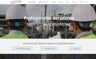 Portfolio stron www - System-tech