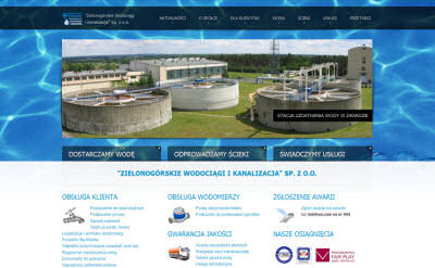 Portfolio stron www - ZWIK